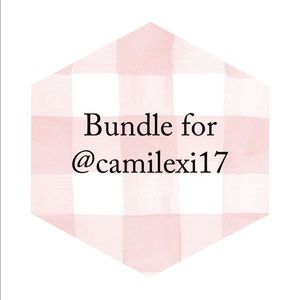 Bundle for @camilexi17